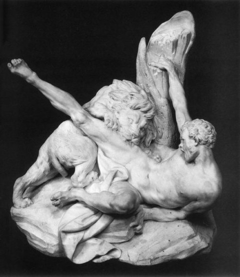 Milo of Croton 1754 Etienne Maurice Falconet French 1716-91