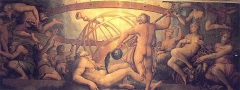 Giorgio Vasari_Cristofano Gherardi-Uranus_by_Saturn