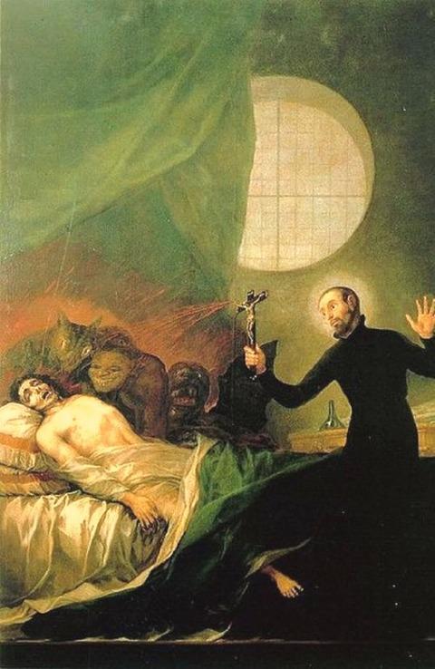 St Francis  Francisco De Goya