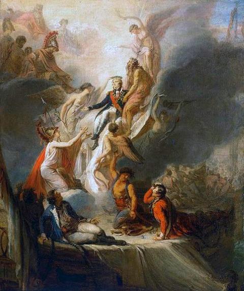 Apotheosis of Nelson Pierre-Nicolas Legrand de Lérant 1805-18