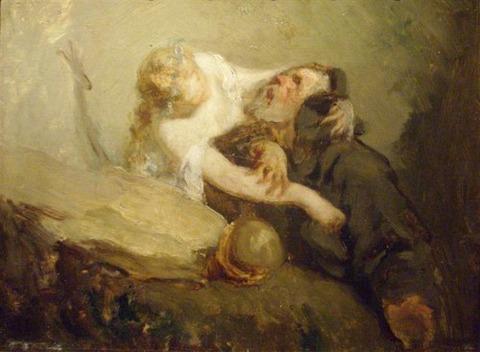 the-temptation-of-st-anthony_Jean-Francois Millet