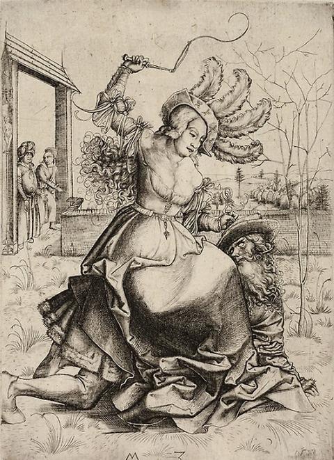 German 1500 Aristotle and Phyllis 1500