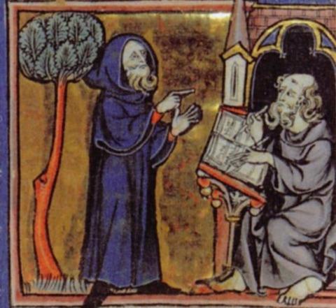 Merlin, Arthur's advisor 1300