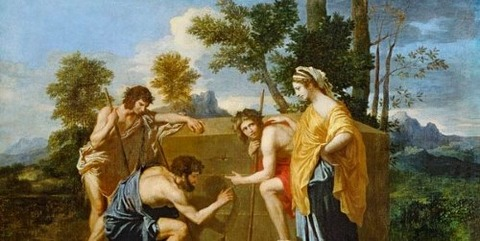 Nicolas Poussin, Shepherds of Arcadia 1637 -