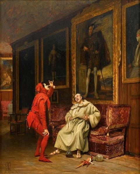 CLAUDE ANDEW CALTHROP The Court Jester