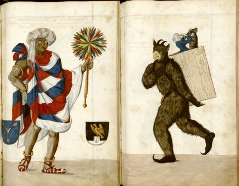 Radical Fashion from the Schembart Carnival (1590)9