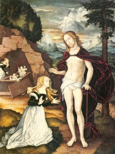 1539 Noli me tangere  Hans Baldung