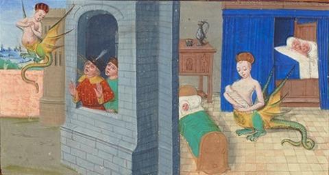 Roman de Mélusine  1400-1450