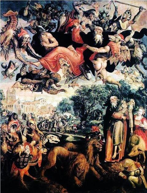 Maarten de Vos - The Temptation of Saint Anthony