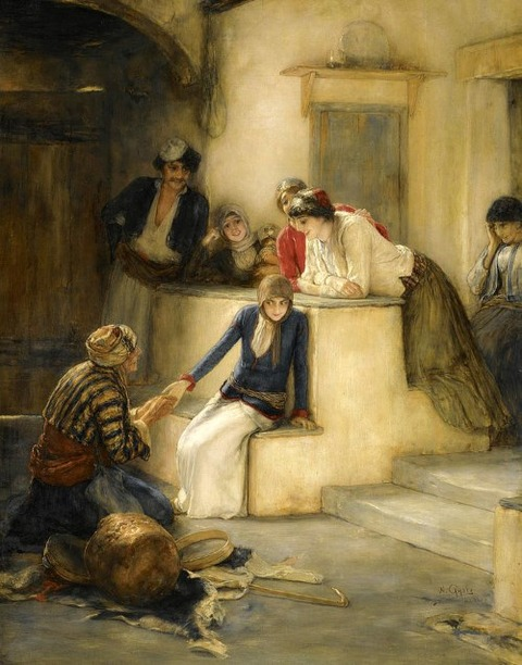 The Fortune Teller by Nikolaos Gyzis