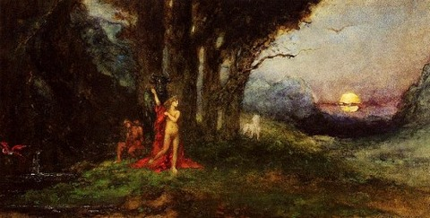 Gustave Moreau Pasiphae and the Bull 1876-80
