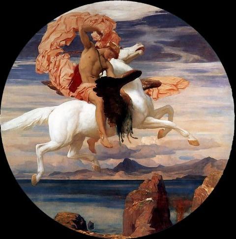 Pegasus Andromeda Lord Frederick Leighton