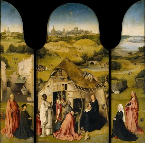 Hieronymus Bosch - Triptych of the Adoration of the Magi
