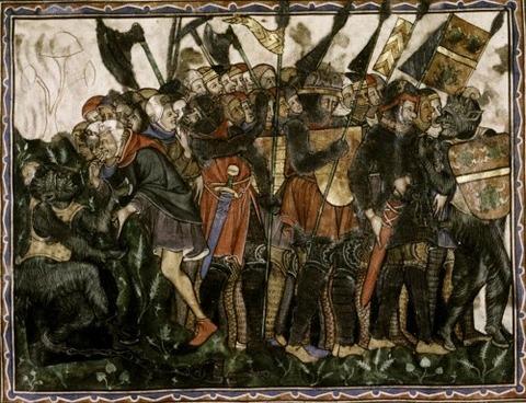 Douce Apocalypse, Satan's army, 1270