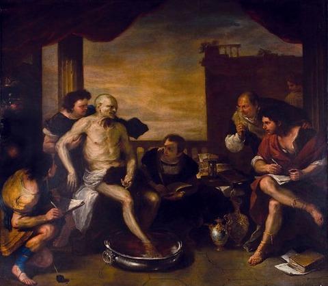 Luca Giordano - La muerte de Séneca 1660