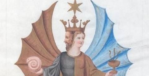 Buch der heiligen Dreifaltigkeit ale, Beinecke, Mellon 1700