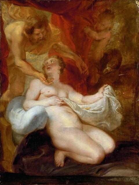 Jupiter and Danae 17th Peter Paul Rubens