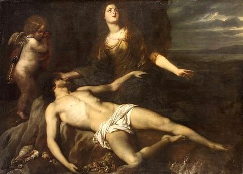 Hero laments the dead LeanderJan van den Hoecke 1635-37