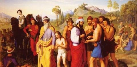 Joseph Being Sold Into Slavery  Alexander Maximilian Seitz -