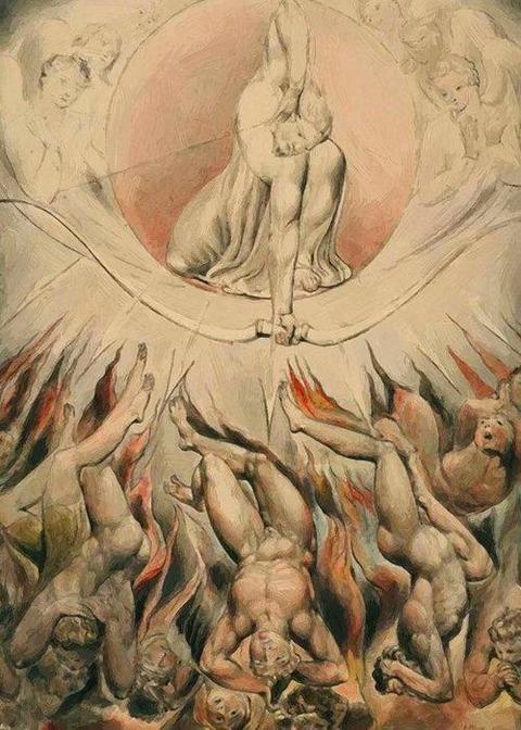 Milton Paradise Lost 1807  Blake William
