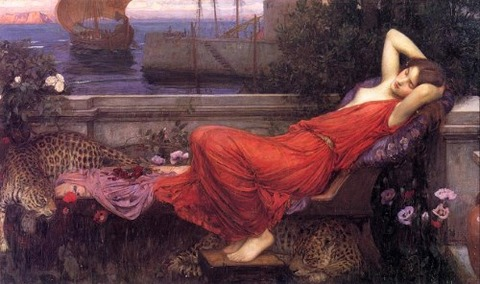 John William Waterhouse Ariadne 1898