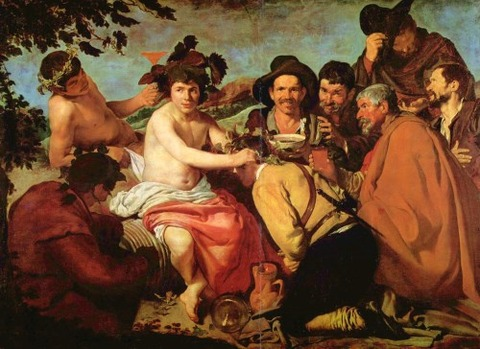 The Triumph of Bacchus The Drunken1629