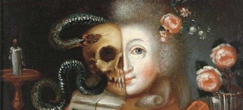 18th century Austrian vanitas -