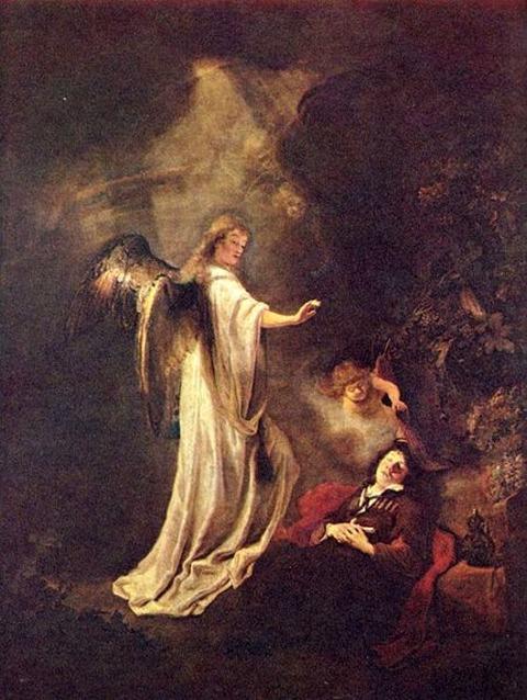 Jakobs Traum von der Himmelsleiter  Ferdinand Bol