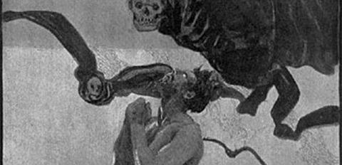 Illustration for Karl May's Von Bagdad nach Stambul  1904 -