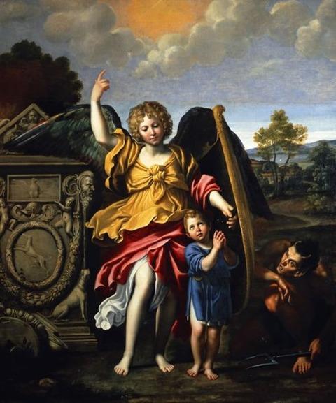 Domenico Zampieri Domenichino, Guardian angel, 1615