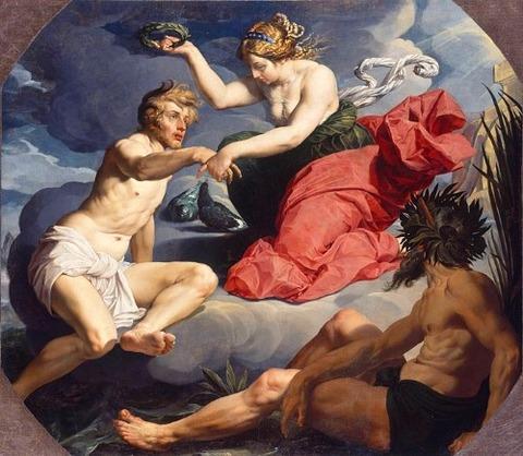 Abraham Janssens - Apotheose des Aeneas 1620-30