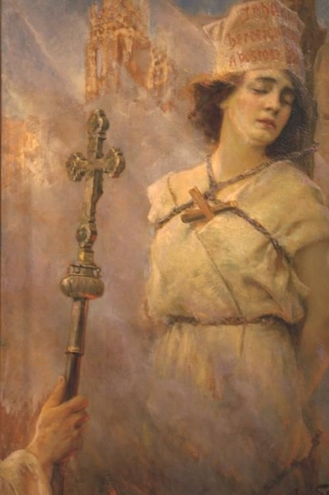 Jan Styka - Joan d'Arc, 1922