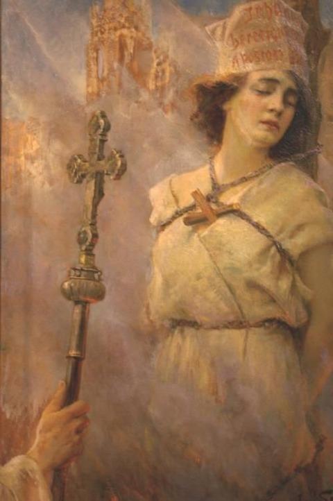 Jan Styka - Joan d'Arc, 1922