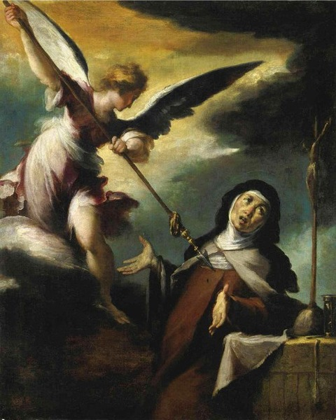 The Ecstasy Of Saint Teresa Bernardo Strozzi17th