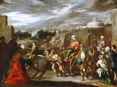 Antonio Del Castillo Y Saavedra - Triumph  Joseph  Egypt