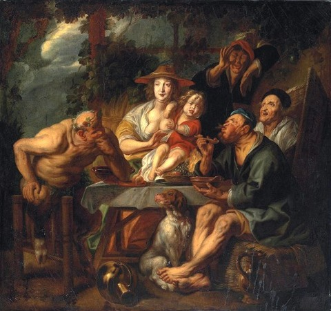 Studio of Jacob Jordaens I (Antwerp 1593-1678)
