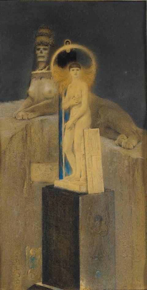 Fernand Khnopff 1885After Joséphin Péladan, The Suprem