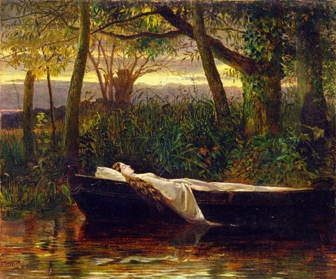 The Lady of Shalott, 1862  Crane, Walter