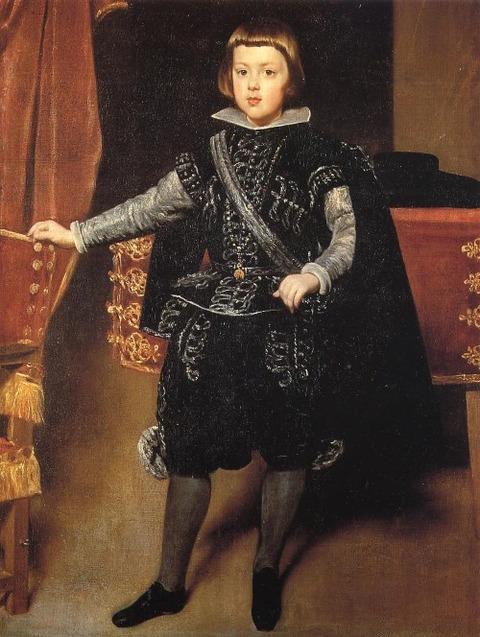 Velazquez Prince Balthasar Carlos, 1639