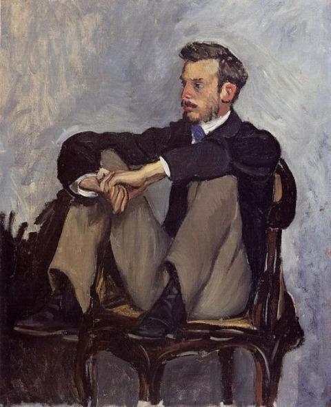 Frederic Bazille  Pierre Auguste Renoir