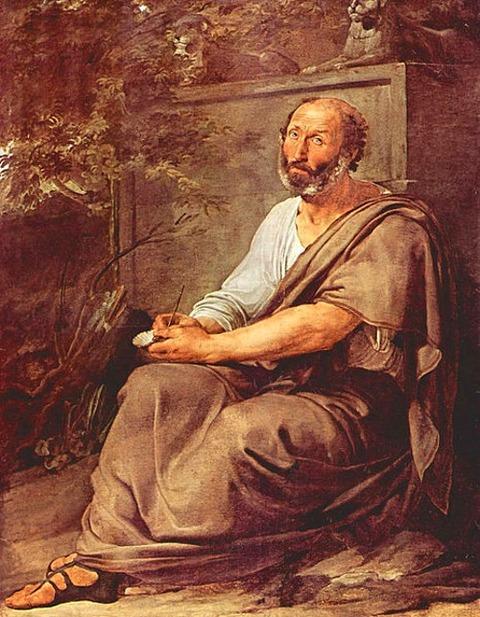 Francesco Hayez Aristotle 1811