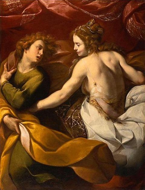 Carlo Francesco Nuvolone - Joseph wife Potiphar 1640