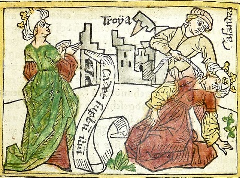 Cassandra prophecy fall Troy her death - Penn Provenance Project