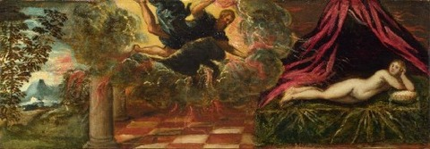 1545 possibly Jacopo Tintoretto