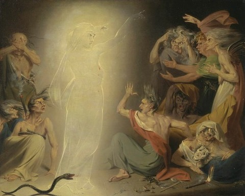ghost of clytemnestra awakening furies   john  downman 1781