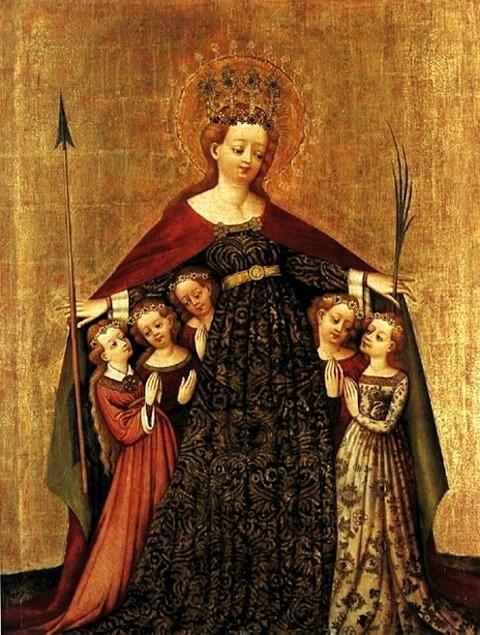 Stefan Lochner Saint Ursula  1430