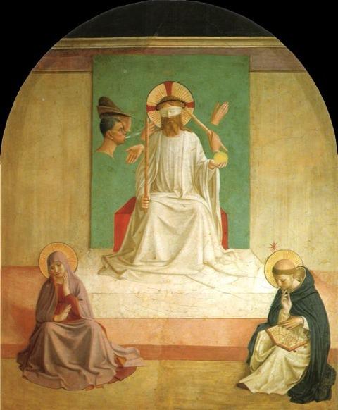 フラ・アンジェリコ Mocking of Christ  1440-41