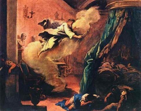 Sebastiano Ricci  The Dream of Aesculapius  1718
