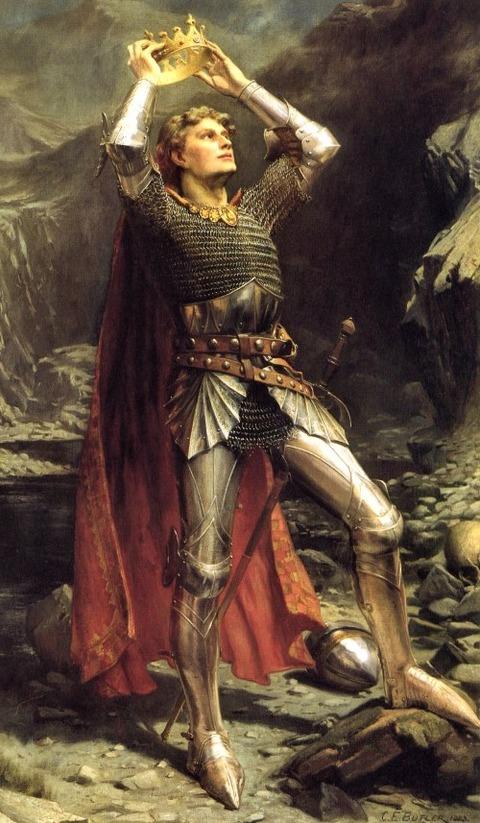 Charles Ernest Butler, King Arthur, 1903