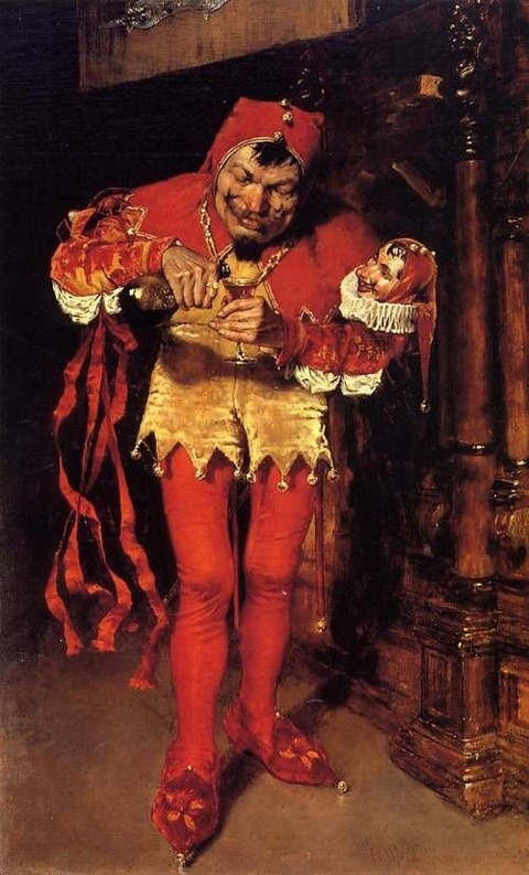 Court Jester 1875 William Merritt Chase